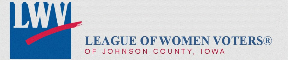 League of Women Voters Johnson County, Iowa